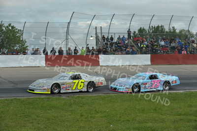 """20160715-425 - ARCA Midwest Tour """"Wayne Carter Classic 100 presented by Rod Baker Ford and Illinois Truck Equipment """" at Grundy County Speedway - Morris, IL7/15/2016"""