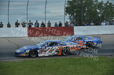 """20160715-446 - ARCA Midwest Tour """"Wayne Carter Classic 100 presented by Rod Baker Ford and Illinois Truck Equipment """" at Grundy County Speedway - Morris, IL7/15/2016"""