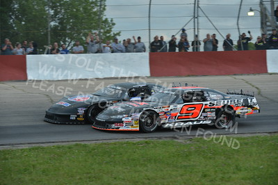 """20160715-433 - ARCA Midwest Tour """"Wayne Carter Classic 100 presented by Rod Baker Ford and Illinois Truck Equipment """" at Grundy County Speedway - Morris, IL7/15/2016"""