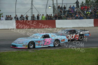 """20160715-421 - ARCA Midwest Tour """"Wayne Carter Classic 100 presented by Rod Baker Ford and Illinois Truck Equipment """" at Grundy County Speedway - Morris, IL7/15/2016"""