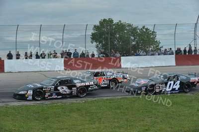 """20160715-436 - ARCA Midwest Tour """"Wayne Carter Classic 100 presented by Rod Baker Ford and Illinois Truck Equipment """" at Grundy County Speedway - Morris, IL7/15/2016"""