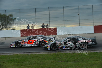 """20160715-435 - ARCA Midwest Tour """"Wayne Carter Classic 100 presented by Rod Baker Ford and Illinois Truck Equipment """" at Grundy County Speedway - Morris, IL7/15/2016"""