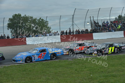 """20160715-440 - ARCA Midwest Tour """"Wayne Carter Classic 100 presented by Rod Baker Ford and Illinois Truck Equipment """" at Grundy County Speedway - Morris, IL7/15/2016"""