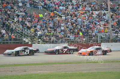 """20160715-422 - ARCA Midwest Tour """"Wayne Carter Classic 100 presented by Rod Baker Ford and Illinois Truck Equipment """" at Grundy County Speedway - Morris, IL7/15/2016"""