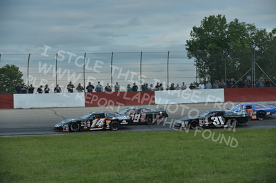 """20160715-442 - ARCA Midwest Tour """"Wayne Carter Classic 100 presented by Rod Baker Ford and Illinois Truck Equipment """" at Grundy County Speedway - Morris, IL7/15/2016"""