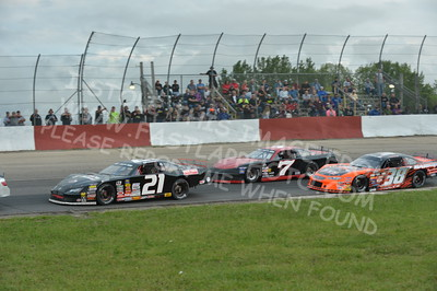 """20160715-423 - ARCA Midwest Tour """"Wayne Carter Classic 100 presented by Rod Baker Ford and Illinois Truck Equipment """" at Grundy County Speedway - Morris, IL7/15/2016"""