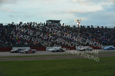 """20160715-432 - ARCA Midwest Tour """"Wayne Carter Classic 100 presented by Rod Baker Ford and Illinois Truck Equipment """" at Grundy County Speedway - Morris, IL7/15/2016"""