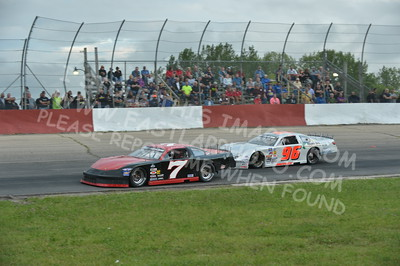"""20160715-431 - ARCA Midwest Tour """"Wayne Carter Classic 100 presented by Rod Baker Ford and Illinois Truck Equipment """" at Grundy County Speedway - Morris, IL7/15/2016"""