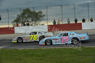 """20160715-427 - ARCA Midwest Tour """"Wayne Carter Classic 100 presented by Rod Baker Ford and Illinois Truck Equipment """" at Grundy County Speedway - Morris, IL7/15/2016"""