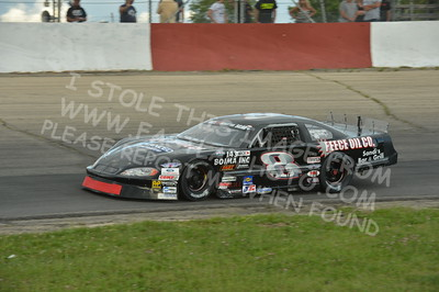 """20160715-335 - ARCA Midwest Tour """"Wayne Carter Classic 100 presented by Rod Baker Ford and Illinois Truck Equipment """" at Grundy County Speedway - Morris, IL7/15/2016"""