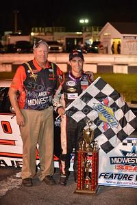 "20160813-652 - ARCA Midwest Tour ""Mid-Summer Showdown 100"" at Marshfield Motor Speedway - Marshfield, WI 8/13/2016"
