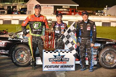 "20160813-656 - ARCA Midwest Tour ""Mid-Summer Showdown 100"" at Marshfield Motor Speedway - Marshfield, WI 8/13/2016"