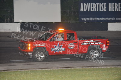 "20160903 0450 - ARCA Midwest Tour ""Bill Meiller Memorial 101"" at Dells Raceway Park - Wisconsin Dells, WI - 9/3/16"