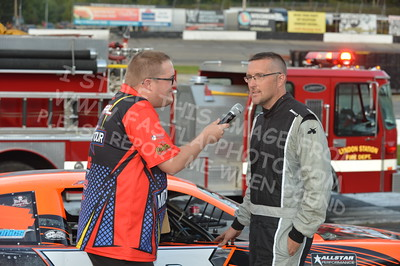 "20160903 0247 - ARCA Midwest Tour ""Bill Meiller Memorial 101"" at Dells Raceway Park - Wisconsin Dells, WI - 9/3/16"