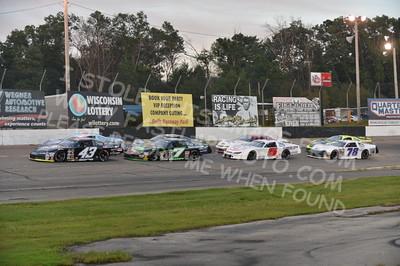"20160903 0313 - ARCA Midwest Tour ""Bill Meiller Memorial 101"" at Dells Raceway Park - Wisconsin Dells, WI - 9/3/16"