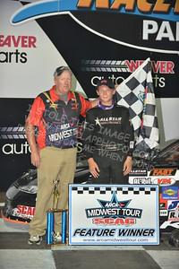 "20160903 0559 - ARCA Midwest Tour ""Bill Meiller Memorial 101"" at Dells Raceway Park - Wisconsin Dells, WI - 9/3/16"