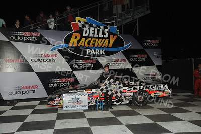 "20160903 0807 - ARCA Midwest Tour ""Bill Meiller Memorial 101"" at Dells Raceway Park - Wisconsin Dells, WI - 9/3/16"