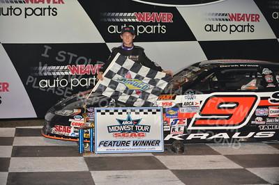 "20160903 0555 - ARCA Midwest Tour ""Bill Meiller Memorial 101"" at Dells Raceway Park - Wisconsin Dells, WI - 9/3/16"