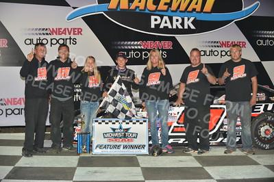 "20160903 0563 - ARCA Midwest Tour ""Bill Meiller Memorial 101"" at Dells Raceway Park - Wisconsin Dells, WI - 9/3/16"