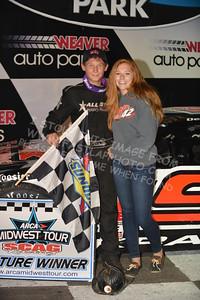 "20160903 0566 - ARCA Midwest Tour ""Bill Meiller Memorial 101"" at Dells Raceway Park - Wisconsin Dells, WI - 9/3/16"