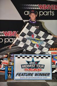 "20160903 0556 - ARCA Midwest Tour ""Bill Meiller Memorial 101"" at Dells Raceway Park - Wisconsin Dells, WI - 9/3/16"
