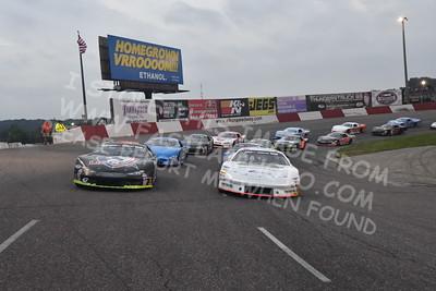 """20160924 469 - ARCA Midwest Tour """"Thunderstruck 93"""" at Elko Speedway - Elko, MN - 9/24/16"""
