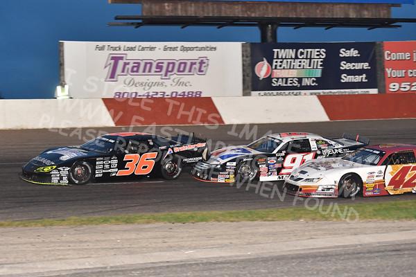 """20160924 634 - ARCA Midwest Tour """"Thunderstruck 93"""" at Elko Speedway - Elko, MN - 9/24/16"""