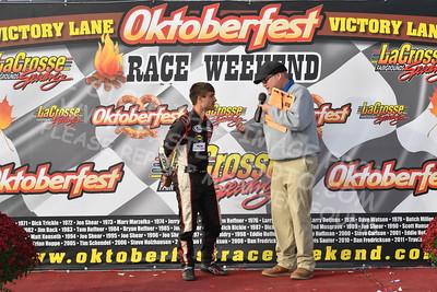 "20161008 553 - ARCA Midwest Tour ""47th Oktoberfest Race Weekend"" at LaCrosse Fairgrounds Speedway - West Salem, WI - 10/8/16"