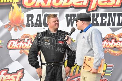 "20161008 534 - ARCA Midwest Tour ""47th Oktoberfest Race Weekend"" at LaCrosse Fairgrounds Speedway - West Salem, WI - 10/8/16"