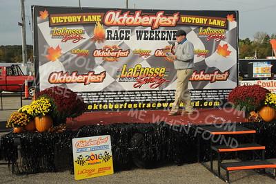 "20161008 712 - ARCA Midwest Tour ""47th Oktoberfest Race Weekend"" at LaCrosse Fairgrounds Speedway - West Salem, WI - 10/8/16"