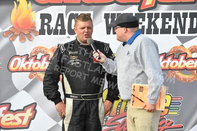 "20161008 535 - ARCA Midwest Tour ""47th Oktoberfest Race Weekend"" at LaCrosse Fairgrounds Speedway - West Salem, WI - 10/8/16"
