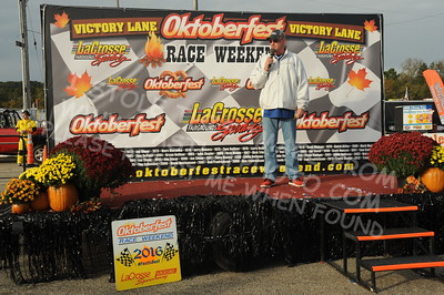 "20161008 711 - ARCA Midwest Tour ""47th Oktoberfest Race Weekend"" at LaCrosse Fairgrounds Speedway - West Salem, WI - 10/8/16"