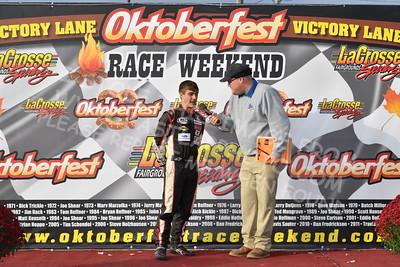 "20161008 554 - ARCA Midwest Tour ""47th Oktoberfest Race Weekend"" at LaCrosse Fairgrounds Speedway - West Salem, WI - 10/8/16"