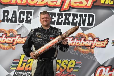 "20161008 541 - ARCA Midwest Tour ""47th Oktoberfest Race Weekend"" at LaCrosse Fairgrounds Speedway - West Salem, WI - 10/8/16"