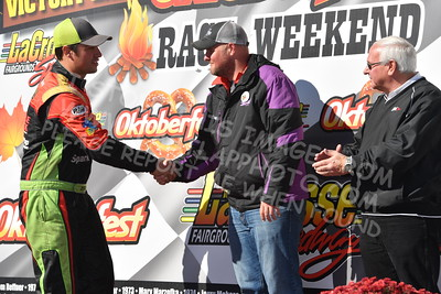 20161009-151 - 47th Oktoberfest Race Weekend at LaCrosse Fairgrounds Speedway - West Salem, WI - 10/9/2016