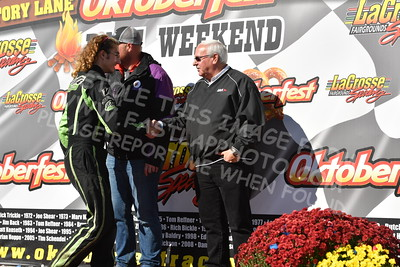 20161009-130 - 47th Oktoberfest Race Weekend at LaCrosse Fairgrounds Speedway - West Salem, WI - 10/9/2016