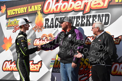 20161009-145 - 47th Oktoberfest Race Weekend at LaCrosse Fairgrounds Speedway - West Salem, WI - 10/9/2016