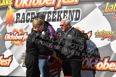 20161009-150 - 47th Oktoberfest Race Weekend at LaCrosse Fairgrounds Speedway - West Salem, WI - 10/9/2016
