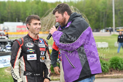 """20170521 559 - ARCA Midwest Tour """"Cabin Fever 100"""" at State Park Speedway - Wausau, WI - 5/21/17"""