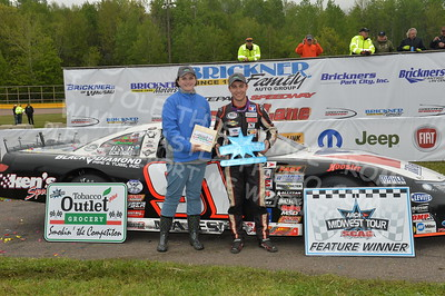 """20170521 726 - ARCA Midwest Tour """"Cabin Fever 100"""" at State Park Speedway - Wausau, WI - 5/21/17"""