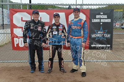 """20170521 738 - ARCA Midwest Tour """"Cabin Fever 100"""" at State Park Speedway - Wausau, WI - 5/21/17"""