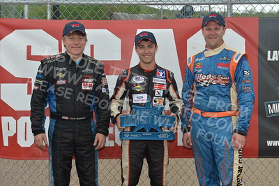 """20170521 739 - ARCA Midwest Tour """"Cabin Fever 100"""" at State Park Speedway - Wausau, WI - 5/21/17"""