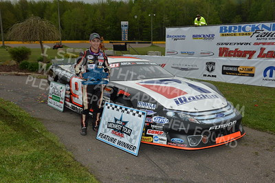 """20170521 725 - ARCA Midwest Tour """"Cabin Fever 100"""" at State Park Speedway - Wausau, WI - 5/21/17"""