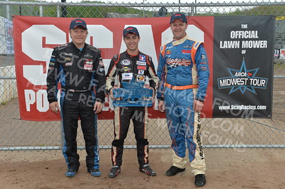 """20170521 737 - ARCA Midwest Tour """"Cabin Fever 100"""" at State Park Speedway - Wausau, WI - 5/21/17"""