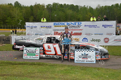 """20170521 723 - ARCA Midwest Tour """"Cabin Fever 100"""" at State Park Speedway - Wausau, WI - 5/21/17"""
