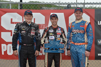"""20170521 740 - ARCA Midwest Tour """"Cabin Fever 100"""" at State Park Speedway - Wausau, WI - 5/21/17"""