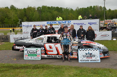 """20170521 729 - ARCA Midwest Tour """"Cabin Fever 100"""" at State Park Speedway - Wausau, WI - 5/21/17"""