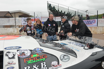 """20170521 731 - ARCA Midwest Tour """"Cabin Fever 100"""" at State Park Speedway - Wausau, WI - 5/21/17"""