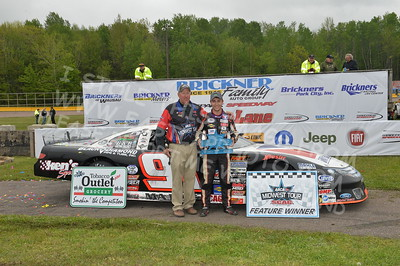 """20170521 724 - ARCA Midwest Tour """"Cabin Fever 100"""" at State Park Speedway - Wausau, WI - 5/21/17"""