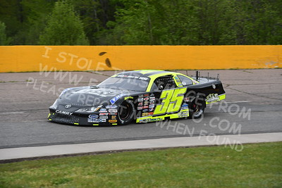 """20170521 267 - ARCA Midwest Tour """"Cabin Fever 100"""" at State Park Speedway - Wausau, WI - 5/21/17"""